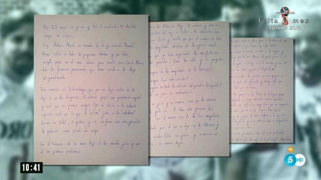 Carta de La Manada