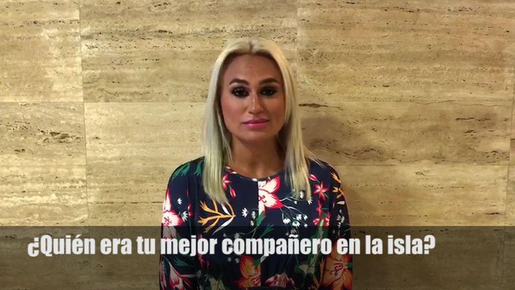 """Isabel Castell se enfrenta al cuestionario exclusivo: """"No me gusta Sofía, solo genera conflictos"""""""