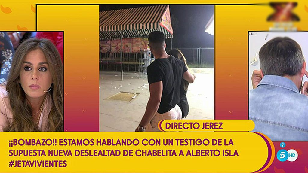 """""""Hubo besitos y caricias"""" y """"dos encuentros"""", un testigo de la supuesta deslealtad de Isa Pantoja habla en directo"""