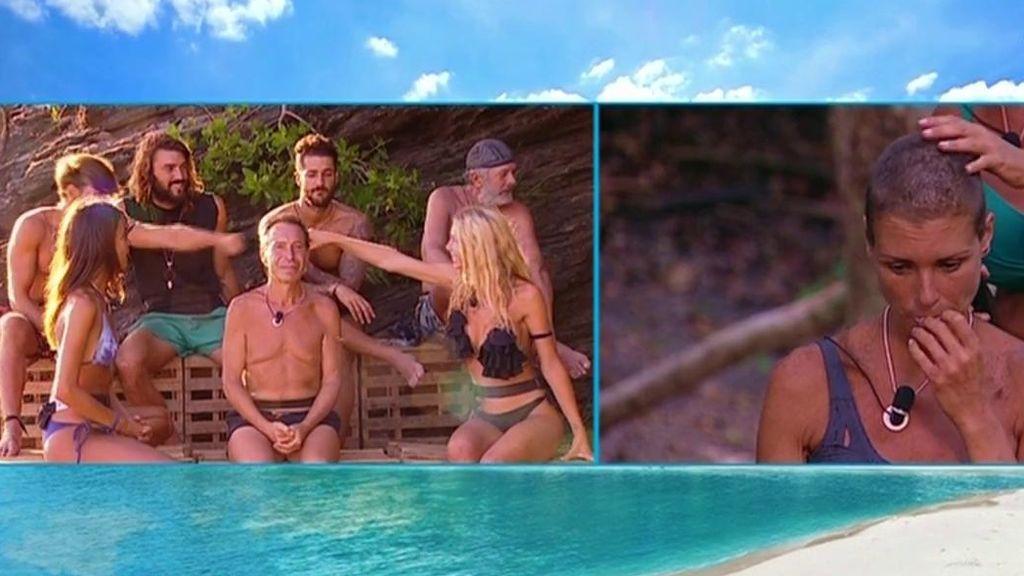 ¡La audiencia, a través de la web, decide que Romina y Sergio disputen la final del juego de líder el próximo jueves!