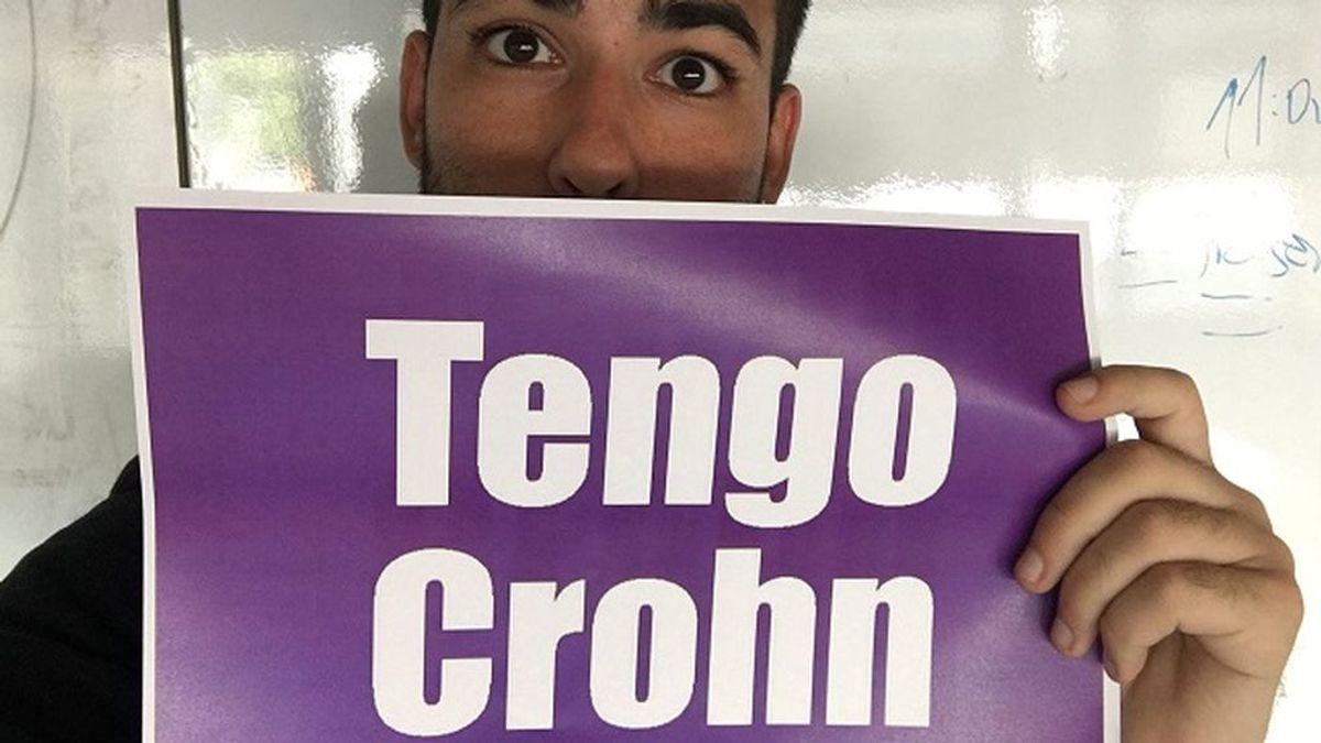 Me llamo Adolfo, tengo la enfermedad de Crohn y necesito que se hable más de ella