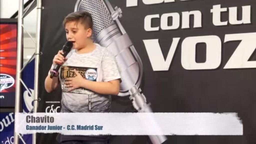Chavito, ganador junior de 'Gana con tu voz' en Madrid