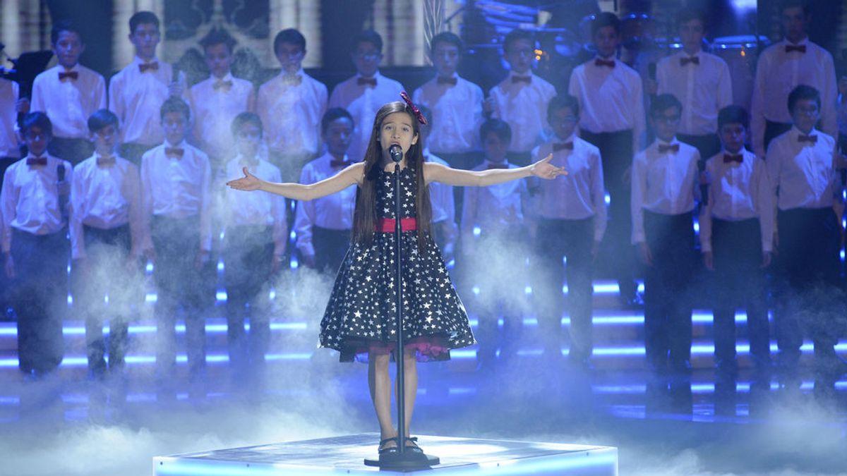 Melani, la ganadora de 'La voz kids 4' se propone para Eurovisión