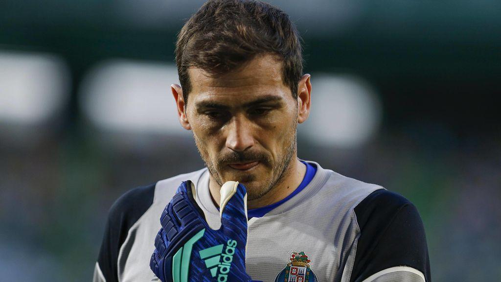 Iker Casillas manda su apoyo al Sporting de Portugal tras las agresiones sufridas en manos de sus ultras
