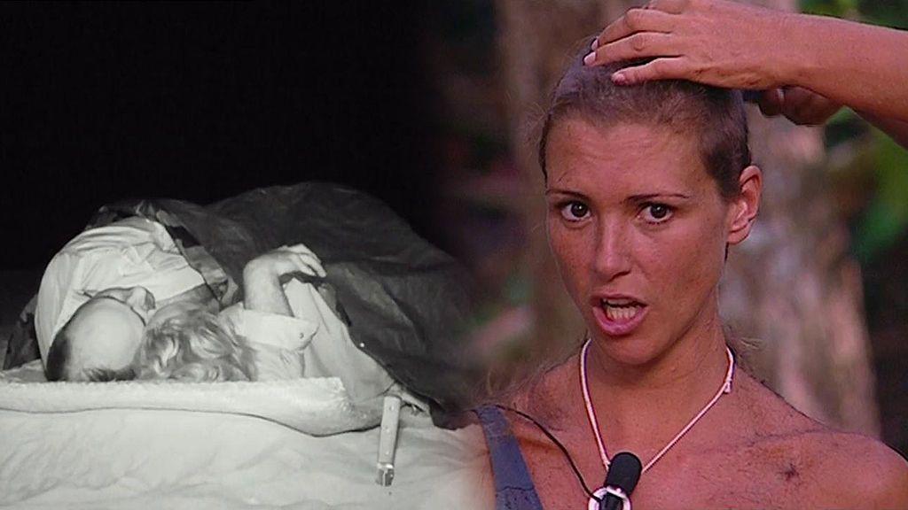 María Jesús lo da todo: ¡Protagoniza el primer 'edredoning' en 'Supervivientes 2018' y se rapa el pelo!