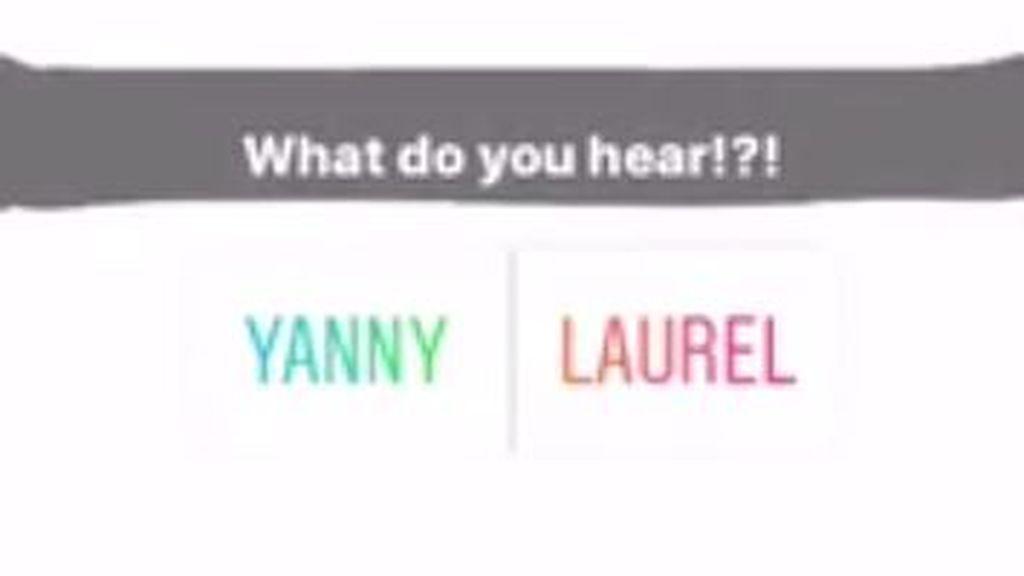 ¿Te acuerdas del vestido azul y negro/blanco y dorado? Pues atentos que llega el AUDIO Yanny/Laurel