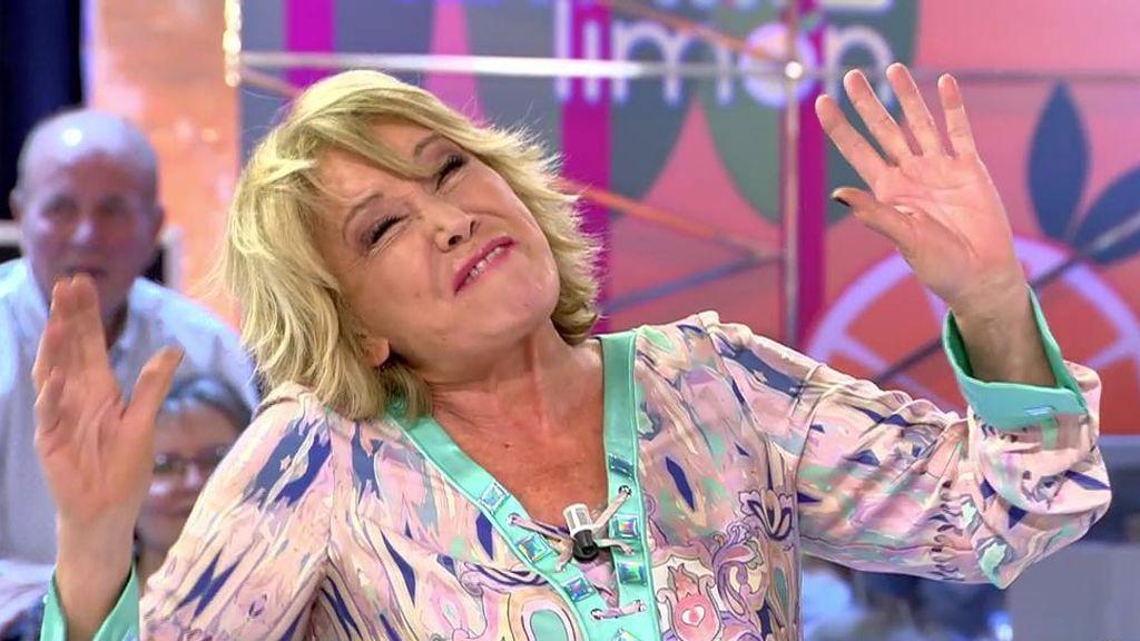 """El encontronazo de Mayte Zaldívar y Mila Ximénez en los pasillos de Telecinco: """"¡Mira qué recta te ha dejado la cárcel la espalda!"""""""