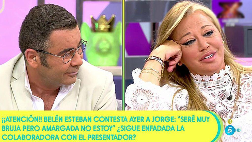 """Belén Esteban y su pique con Jorge Javier: """"Traerme el barreño, que me voy a recoger la sangre porque no tengo lengua"""""""