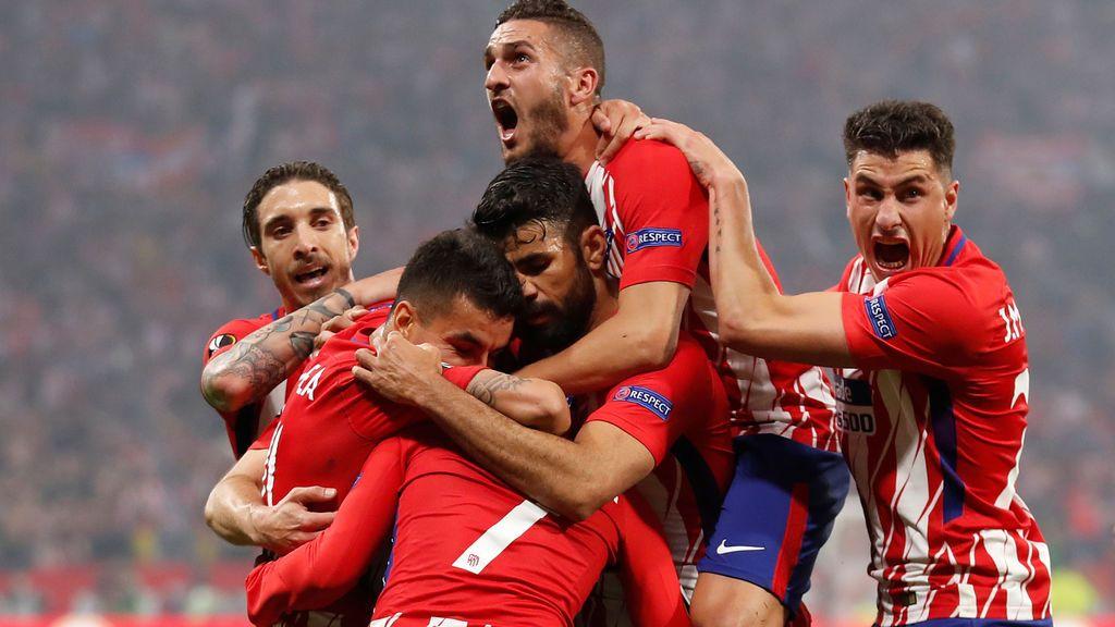 El Atlético conquista ante el Marsella su tercera Europa League con un doblete de Griezmann (3-0)