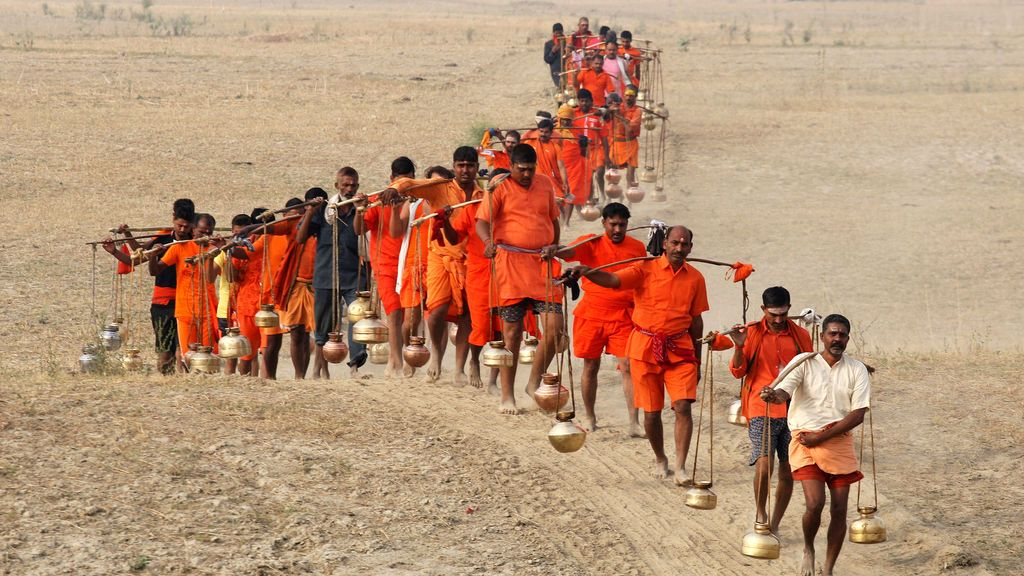 Ceremonia tradicional en la India