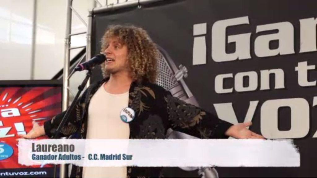 Laureano embauca Madrid con su actuación en 'Gana con tu voz'
