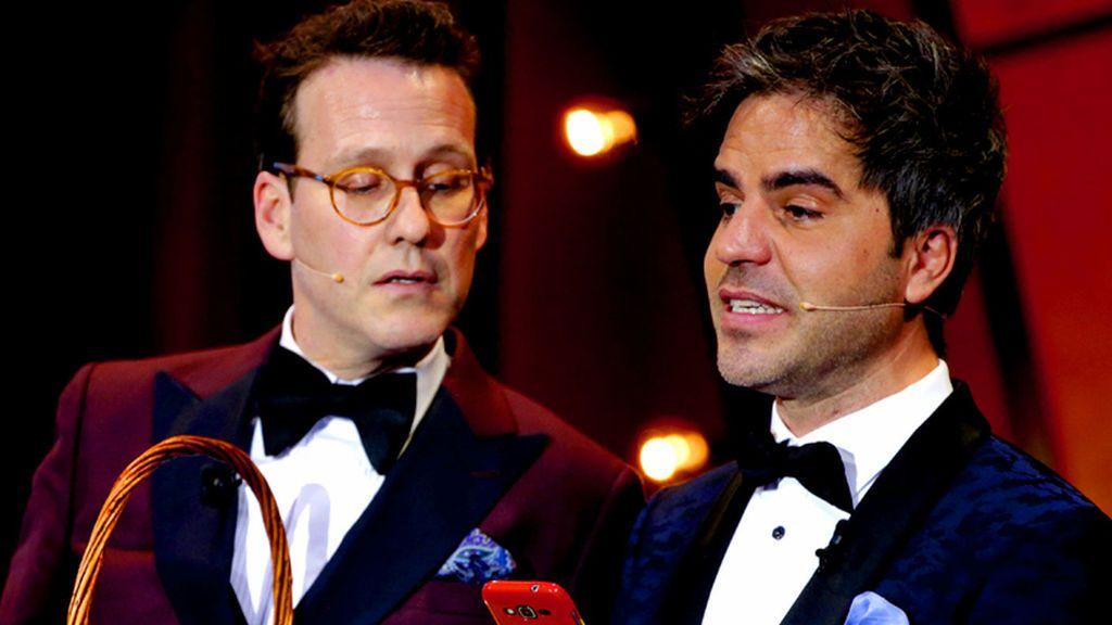 Joaquín Reyes y Ernesto Sevilla, presentadores de la gala de los Goya 2018.