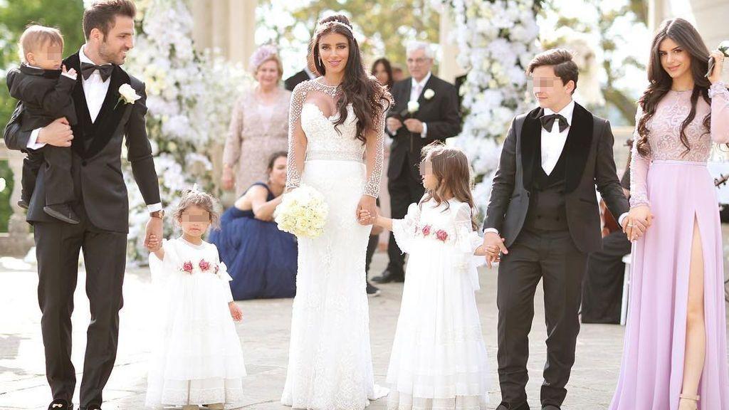 Aciertos y errores de la boda de Cesc Fábregas y Daniella Semaan