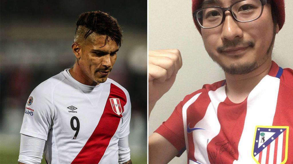 Tasaku, el hincha del Atleti, al que Perú culpa de la sanción de Paolo Guerrero... ¡por llamarse TAS en Twitter!