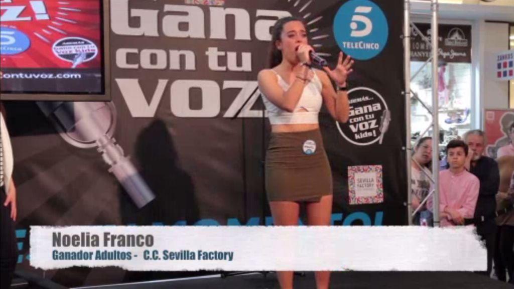 Noelia Franco se alza con el triunfo en Sevilla