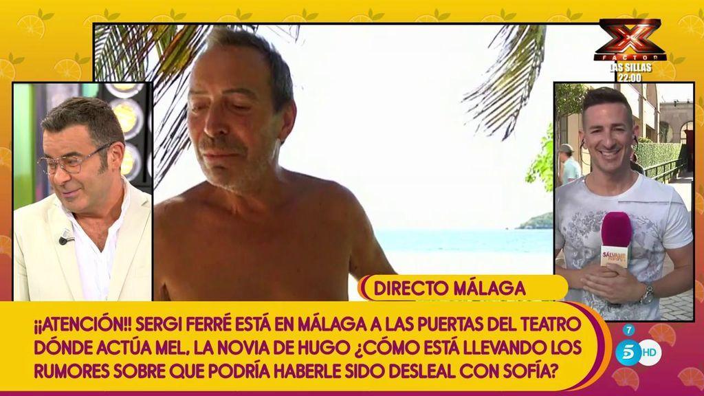 """Sergi Ferré, a Jorge Javier: """"La madre de Joao te quiere conocer porque dice que le gustas mucho para su hijo"""""""