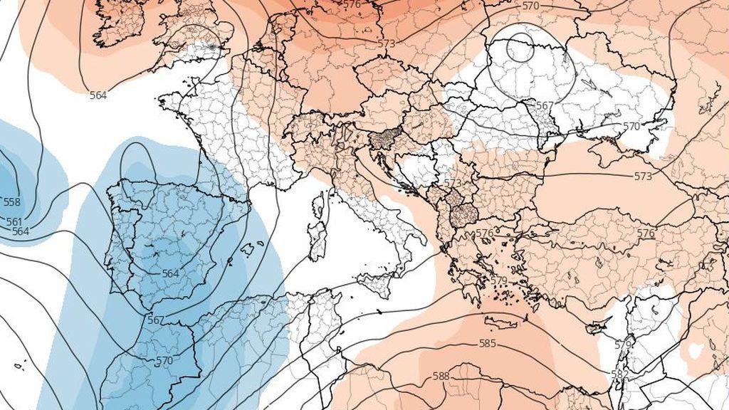 Vienen bajas presiones: más frío para la semana que viene