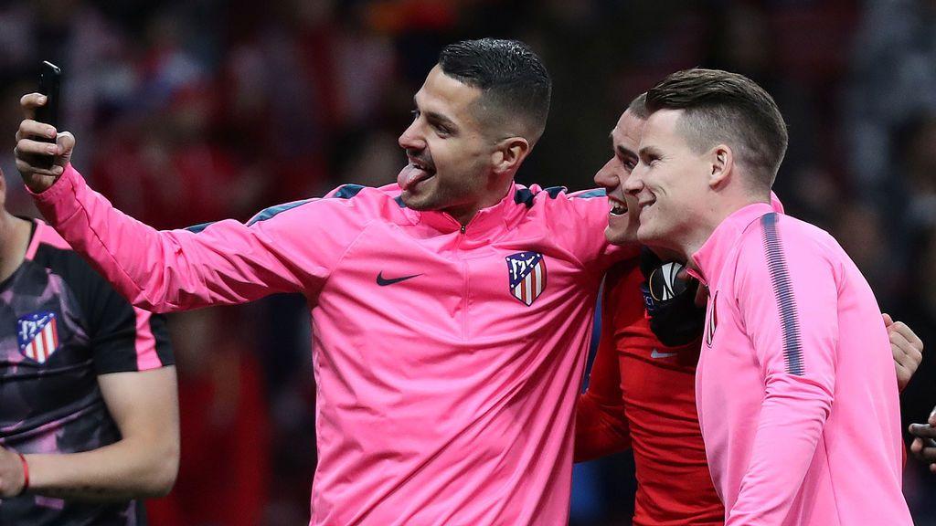 El vacile en redes sociales de Filipe Luis a Vitolo tras la cuarta Europa League del canario