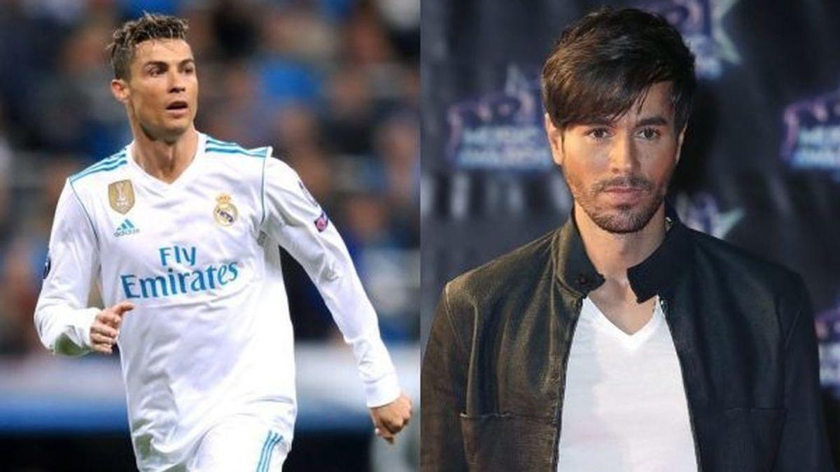 Enrique Iglesias y Cristiano Ronaldo se intercambian piropos por un concierto en Lisboa