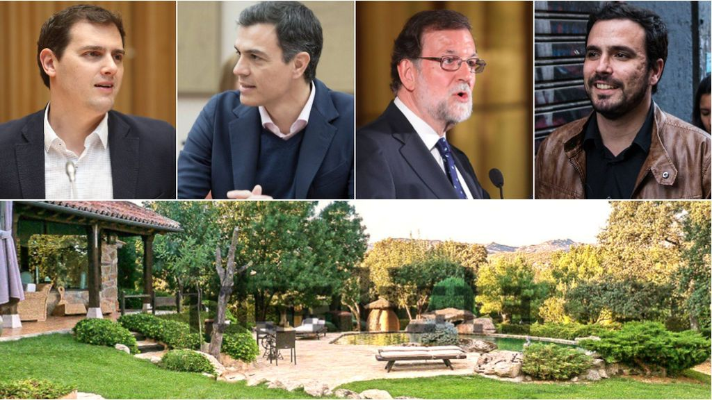 Ya sabemos dónde vive Iglesias: las casas de los otros líderes políticos