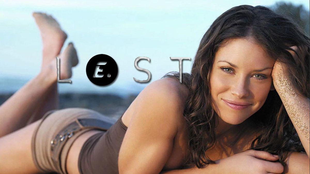 #TBT: Evangeline Lilly (Kate Austen) se queda con este momento de rodaje de 'Perdidos'