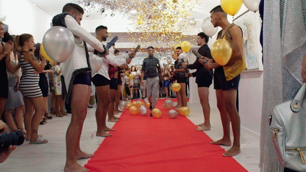 Los Contreras, en el quinto episodio de 'Los gipsy kings'.