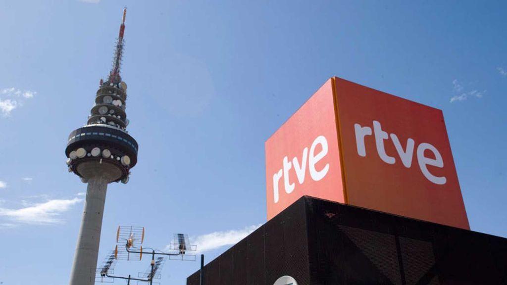 El 'Pirulí', en la sede de RTVE en Torrespaña.