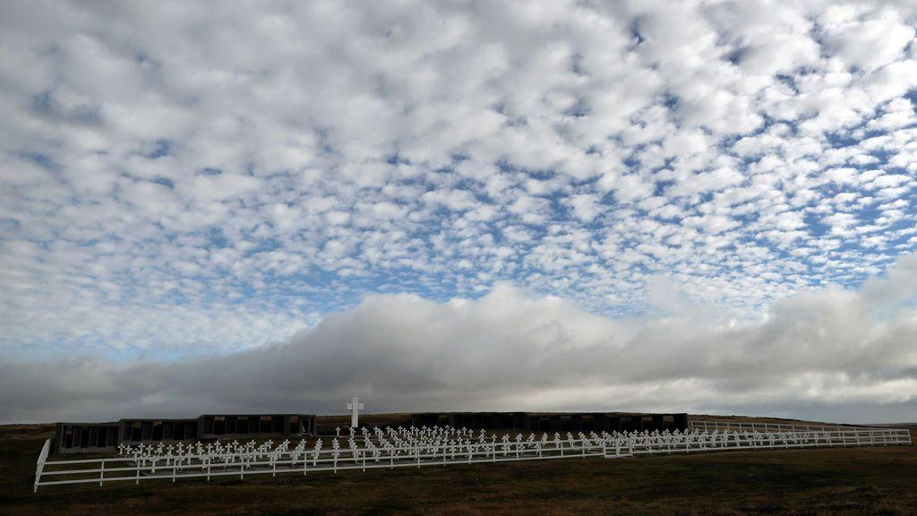 El cementerio de Darwin en las Malvinas
