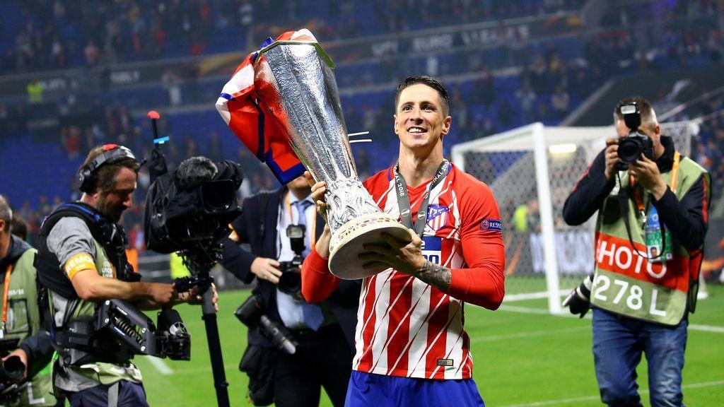 """La reacción de Fernando Torres tras ganar su primer título con el Atlético: """"No puedo ser más feliz"""""""