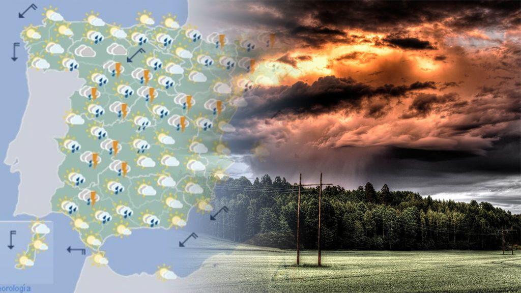 nubes tormentas