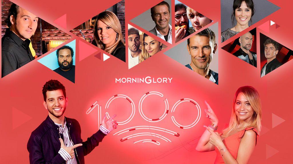 Celebramos 1.000 programas de \'MorninGlory\' en Cuatro, BeMad ...