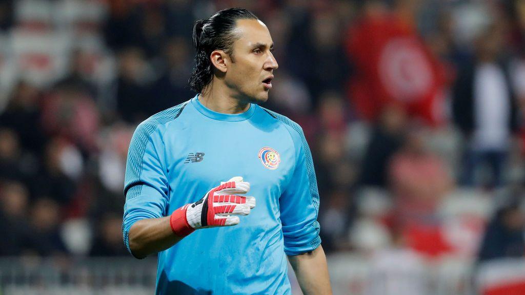 Keylor Navas encabeza la pre-lista de Costa Rica para el Mundial de Rusia