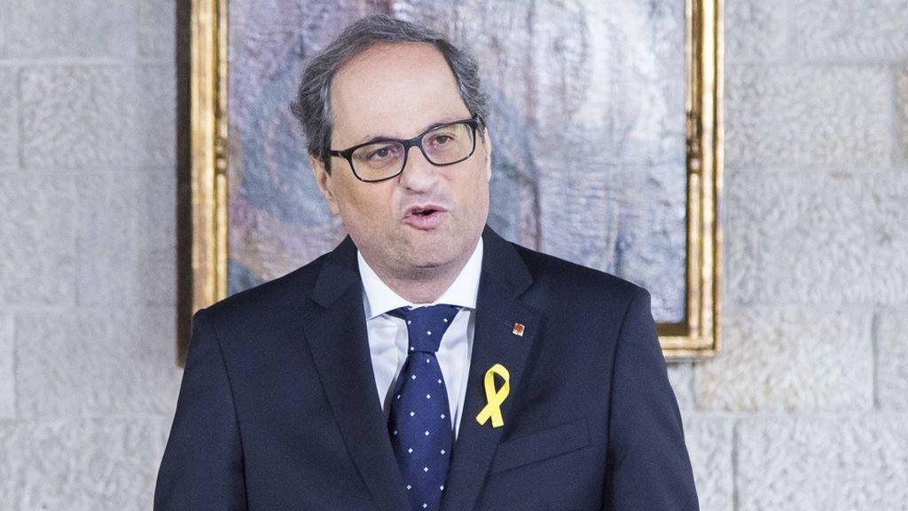 """Torra pide por carta a Rajoy una reunión """"sin condiciones y con respeto mutuo"""""""