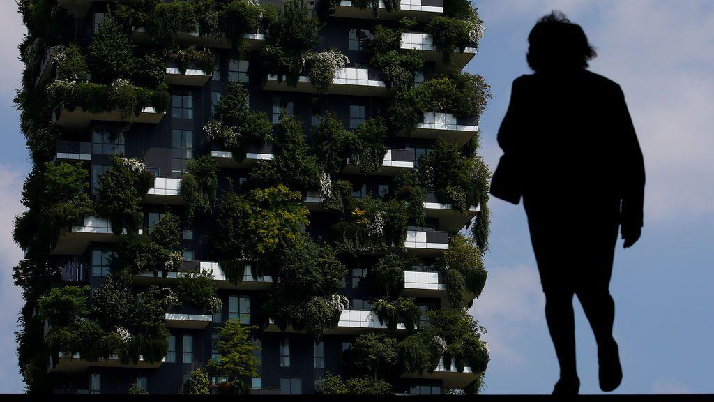 Bosque residencial en Milán