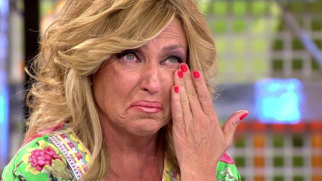 Lydia se derrumba tras escuchar hablar a Romina Power en un programa de televisión italiano
