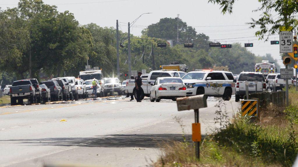 Un alumno siembra el pánico en un colegio de Texas