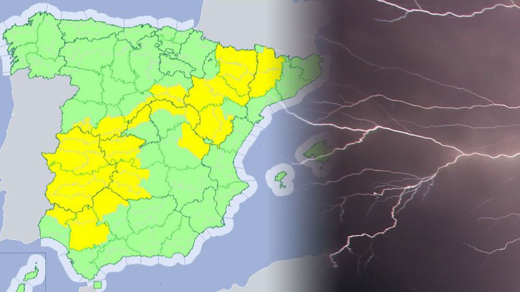 Después de una semana primaveral, 18 provincias se encuentran en alerta por tormentas