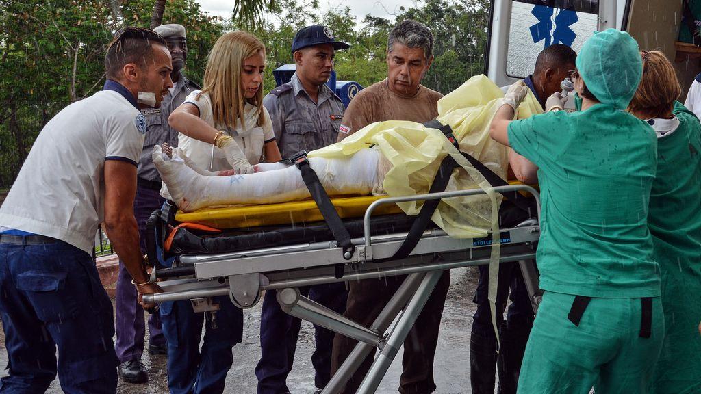 Las imágenes del accidente aéreo en La Habana