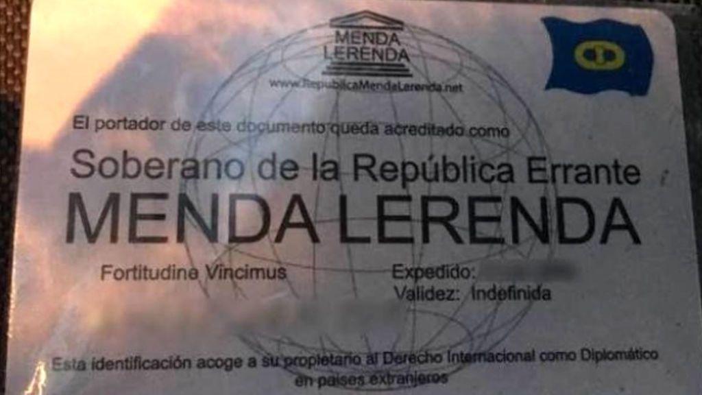 A juicio un hombre que se identificó con un DNI a nombre del Menda lerenda, ciudadano de la República Errante