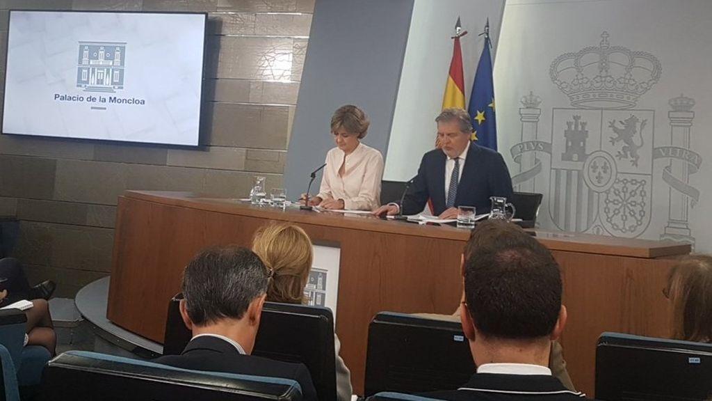 """El Gobierno quiere """"abrir una nueva etapa política"""" en Cataluña con dialogo """"dentro de la ley"""""""