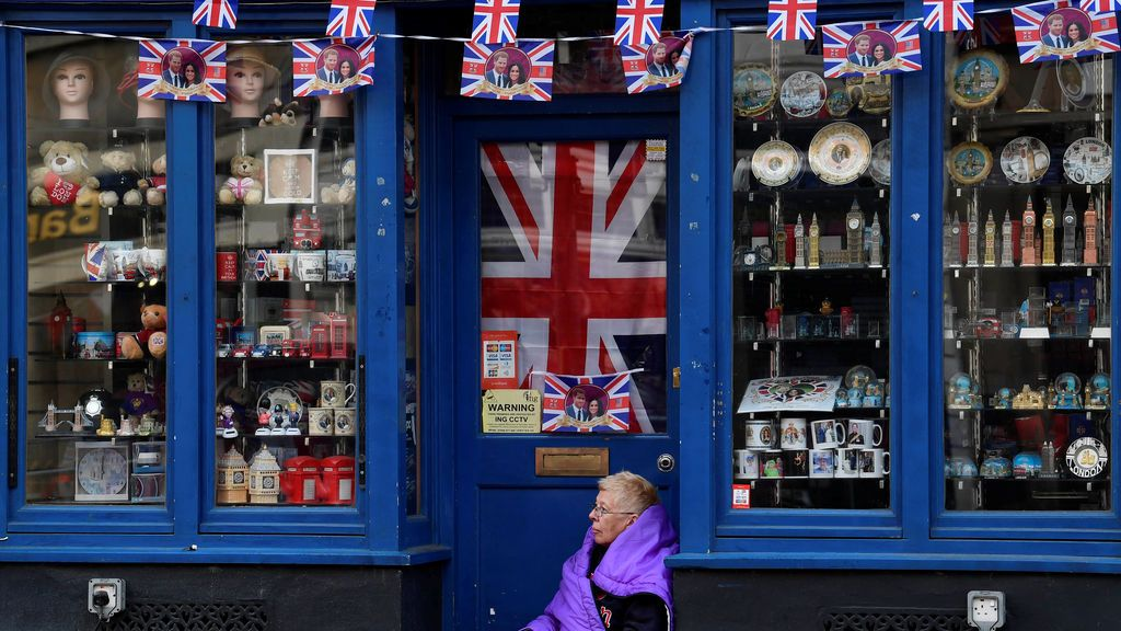Todo preparado para la boda real británica