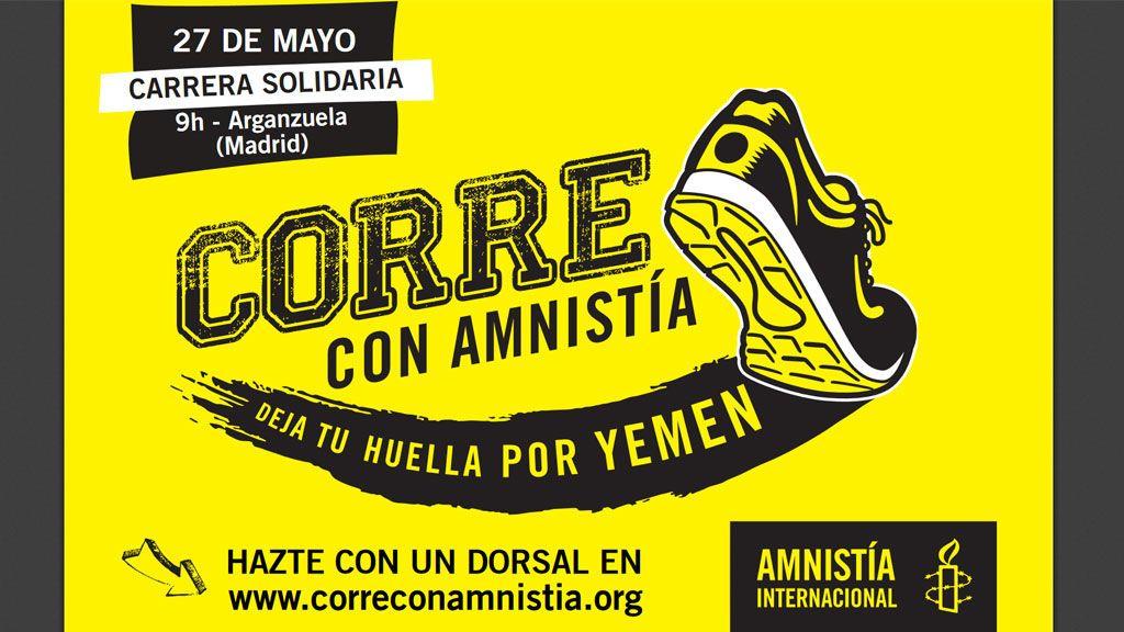 #CorreConAmnistia por Yemen: la ONG organiza su primera carrera solidaria en España