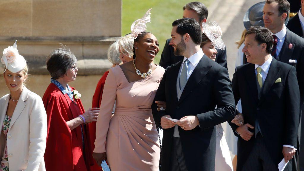 La tenista Serena Williams y su marido