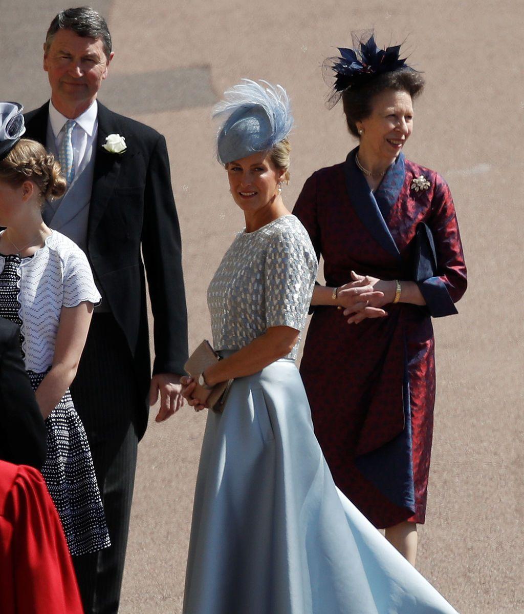 La condesa de Wessex y la princesa Ana
