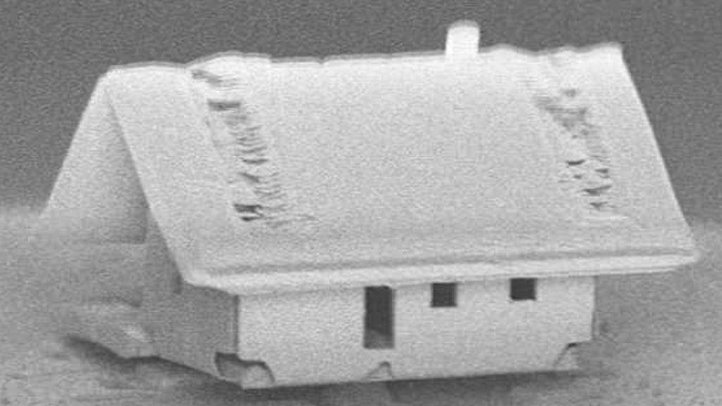 La casa más pequeña del mundo, ¡creada en un laboratorio!