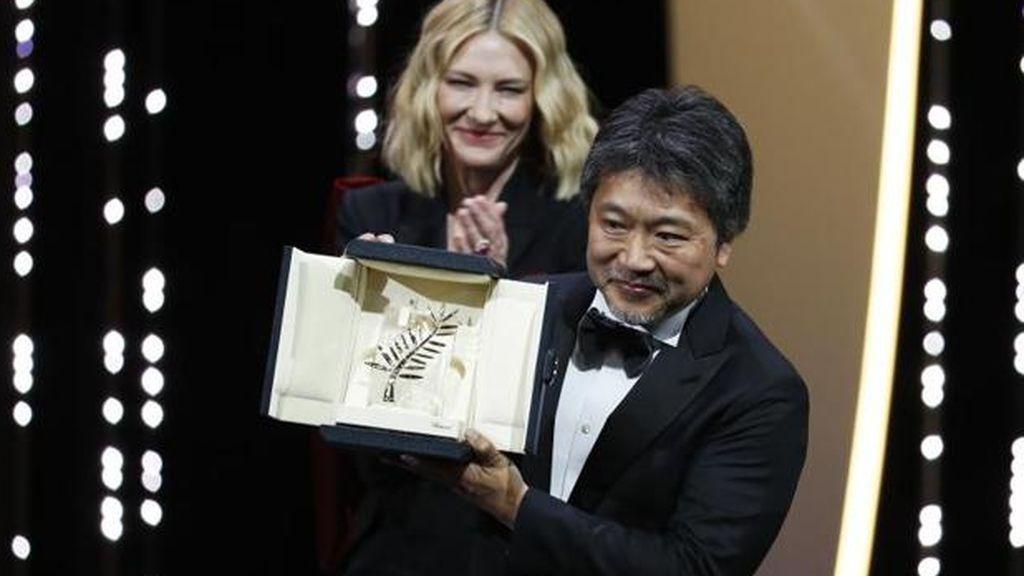 La película japonesa 'Shoplifters' gana la Plama de Oro de Cannes