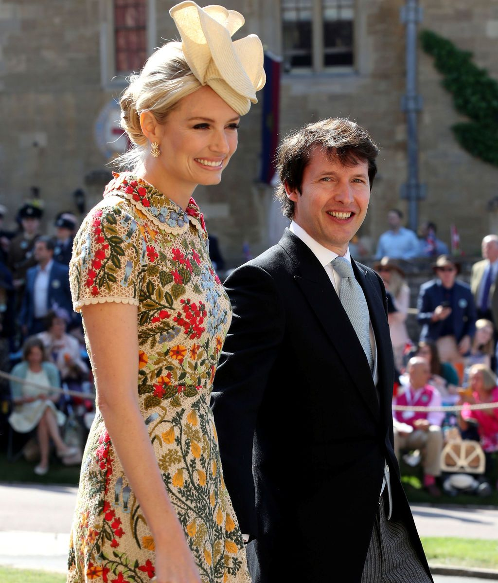 James Blunt y Sofia Wellesley
