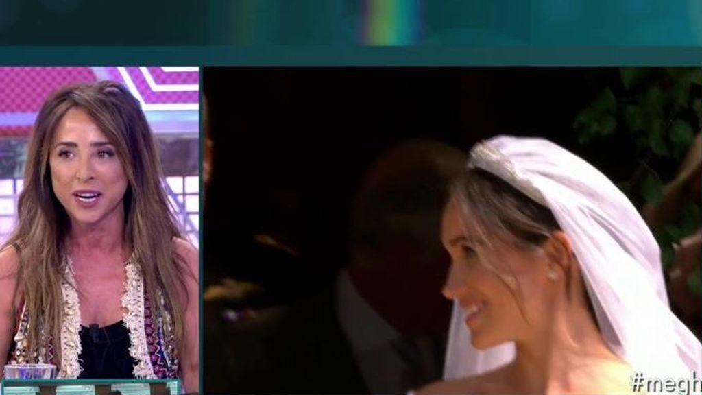"""Patiño, rendida ante el amor de la boda real: """"Quiero un Harry en mi vida"""""""