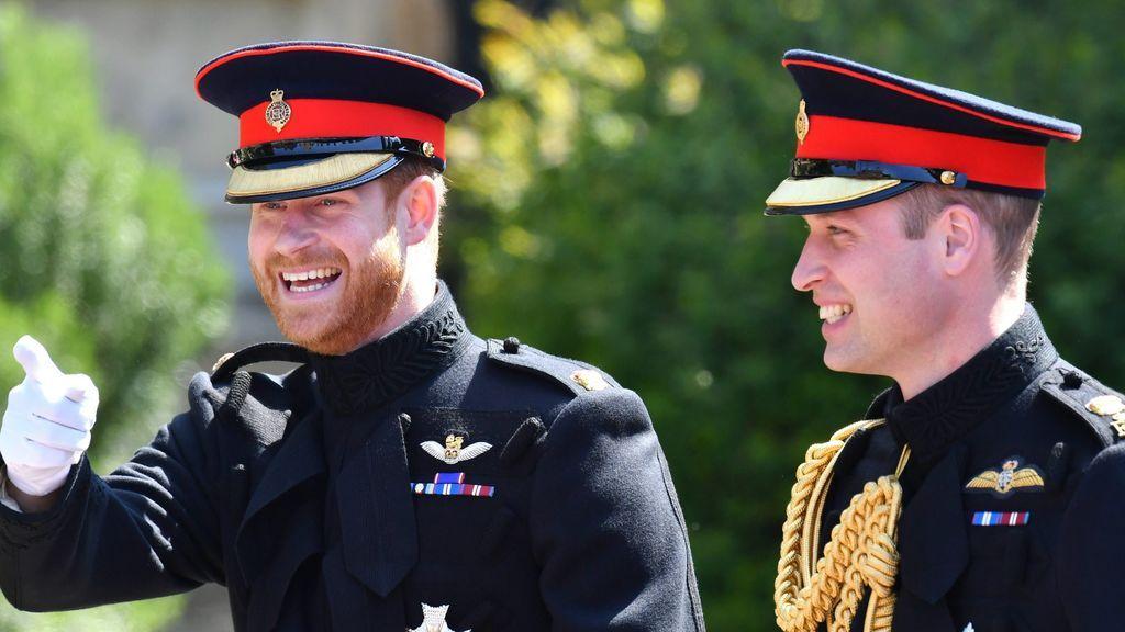 El Príncipe Guillermo, padrino del enlace, no paró de gastar bromas a su hermano antes de la boda