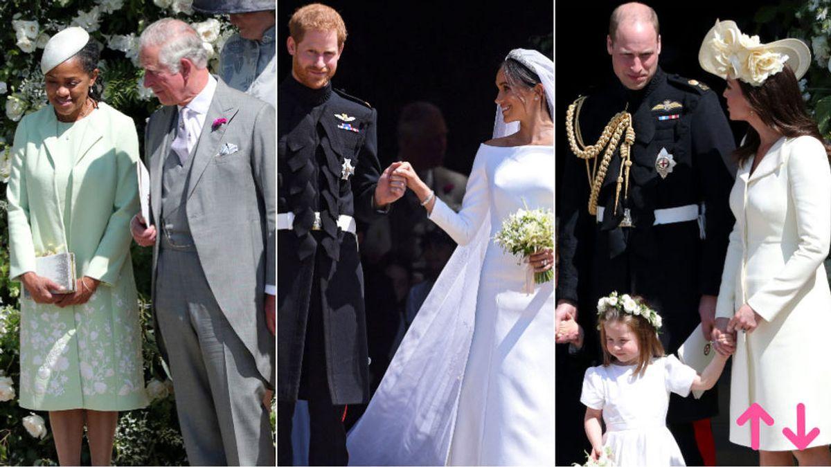 Aciertos y errores de la Famailia Real británica en la boda del Príncipe Harry y Meghan Markle